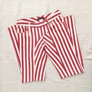 Vintage Dolce & Gabbana Striped Jeans • 38